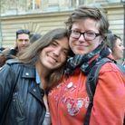 Mathilde, 23 ans et Laure, 25 ans, en couple depuis deux ans