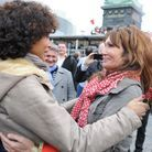 Sonia Rolland et Clémentine Célarié.
