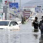 Societe actualite japon tsunami innondations