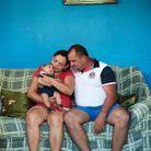 Véronica, Armando et leur bébé Joao Guilhermo