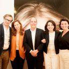 L'équipe L'Oréal Paris avec Anne-Cécile Sarfati