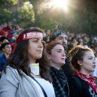 Les femmes turques réunies place Taksim