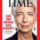 Christine Lagarde, encensée par le Time