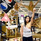 Femen ont investi un magasin Ikea