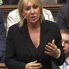 Nadine Dorries une députée britannique susendue parce qu'elle participe à une émission de téléréalité