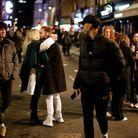 La foule s'est pressée dans les rues pour profiter de ces premiers instants de retrouvailles près des bars.