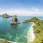 Plage Thaïlande en famille : le parc marin d'Angthong