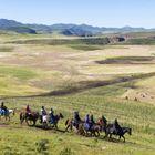 Le Lesotho à cheval