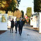 Denis Olivennes, président du directoire, Constance Benqué, CEO ELLE France et International et Alice Maine, adjointe communication